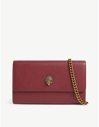 Kurt Geiger London Kensington leather wallet-on-chain