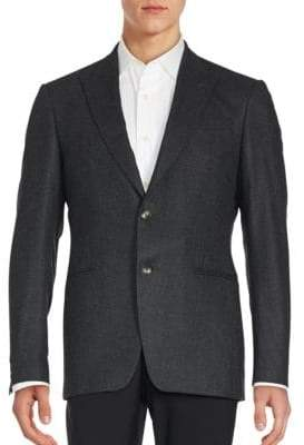 John Varvatos Jack Virgin Wool Sportcoat