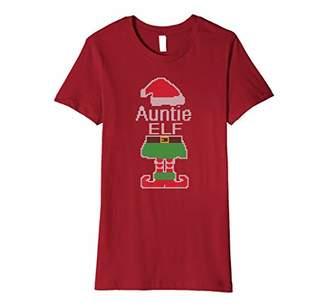 auntie Elf Christmas shirt