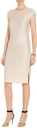 St. John Glimmer Sequin Knit Dress