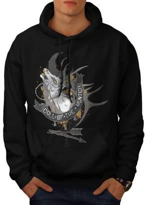 Hunter Wellcoda Call Of Fashion Mens Hoodie, Game Denim Hooded Sweatshirt 4XL
