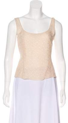 Akris Sleeveless Silk Top