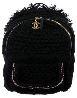 25f125c297ea Chanel 2017 Crochet Cayo Coco Backpack