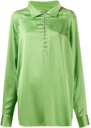 ANAÏS JOURDEN satin blouse