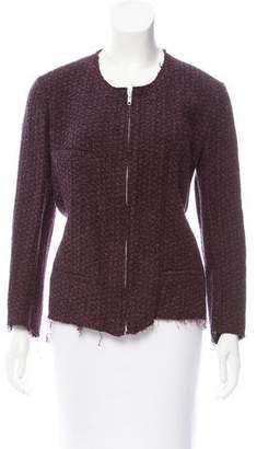 Etoile Isabel Marant Woven Zip-Up Jacket