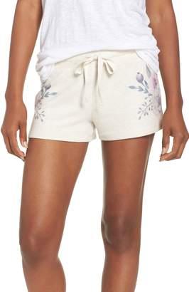 PJ Salvage Peachy Floral Pajama Shorts