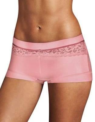 Maidenform The Dream Lace Trim Bodyshort Panty
