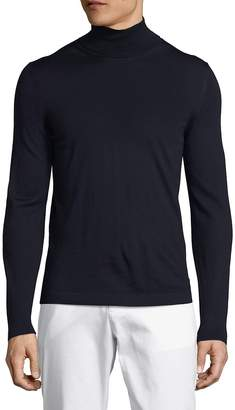 Pal Zileri Men's Solid Turtleneck Pullover