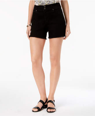 Style&Co. Style & Co Frayed-Hem Denim Shorts
