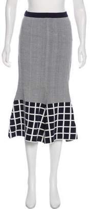 TY-LR Maxi Textured Skirt