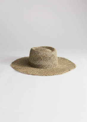 And other stories Straw Fedora Hat