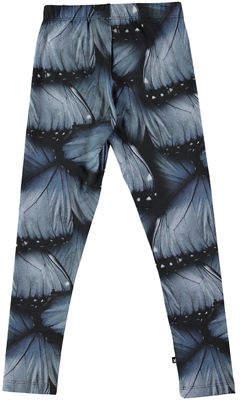 Molo Niki Floral-Print Leggings, Size 3-12