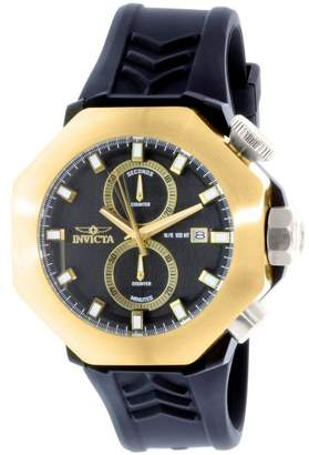 Invicta I Force 16915 Black Silicone Swiss Chronograph Mens Watch
