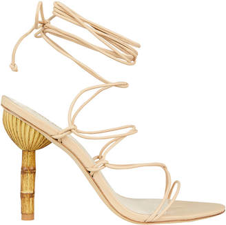 Cult Gaia Soleil Bamboo Heel Sandals
