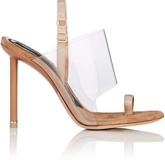 Women's Kaia PVC & Suede Sandals