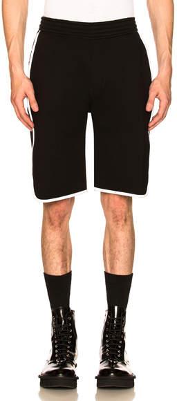 Neil Barrett Double Bonded Basketball Shorts