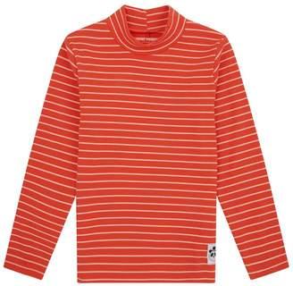 Mini Rodini Striped Turtleneck T-Shirt