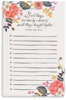 Rifle Paper Co. Great Things Notepad