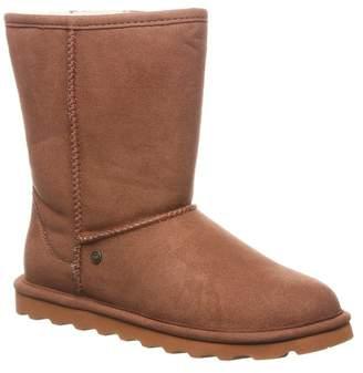 BearPaw Elle Short Vegan Faux Fur Lined Boot