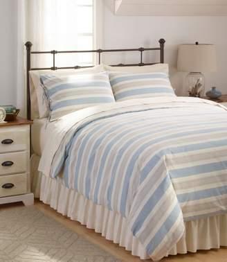 L.L. Bean L.L.Bean Organic Cotton Comforter Cover Collection, Stripe