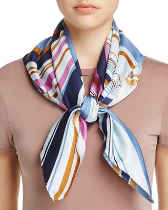 Echo Richard Allan Vita Silk Square Scarf $200 thestylecure.com