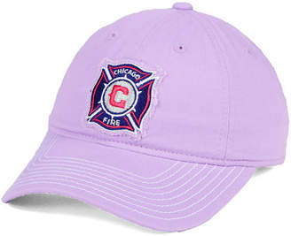 adidas Chicago Fire Pink Slouch Cap