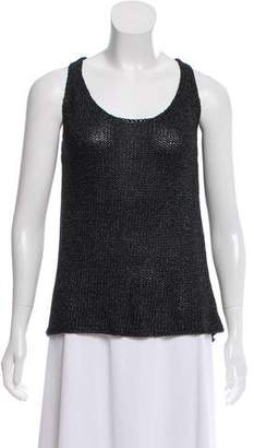 L'Agence Sleeveless Knit Top