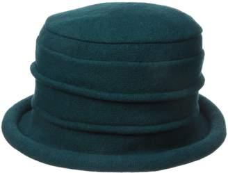 Scala Women's Boiled Wool Cloche
