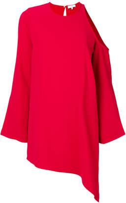 IRO cold shoulder asymmetric dress