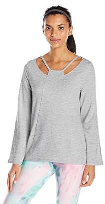 Nanette Lepore Play Women's Plus Size Cut-Out Pullover