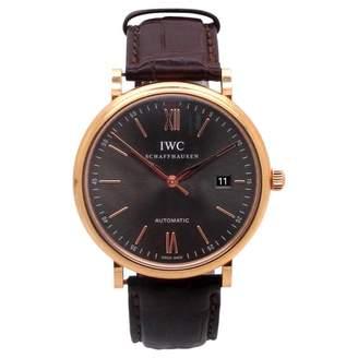 IWC Pink gold watch