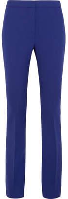 Victoria, Victoria Beckham - Crepe Flared Pants - Indigo