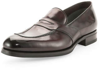 Tom Ford Charles Penny Loafer, Dark Brown