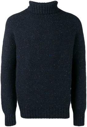 Drumohr roll neck knitted jumper