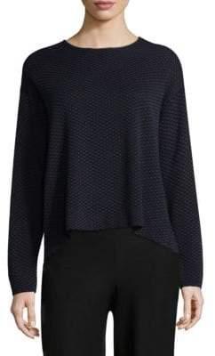 Eileen Fisher Geometric Sweater