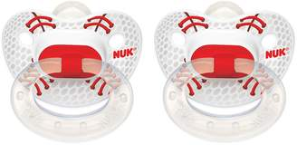 NUK Sports Puller Pacifier in Assorted Colors and Styles, 6-18 Months