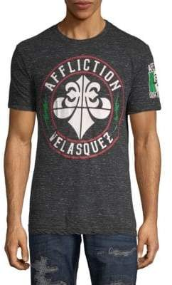 Affliction Velasquez Heathered Tee