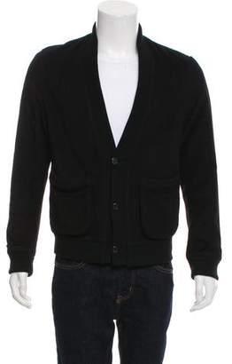 Adam Kimmel Rib Knit-Trimmed Wool-Cashmere Jacket