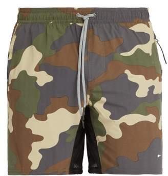 The Upside Ultra Trainer Shorts - Mens - Khaki Multi