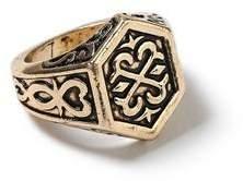 Topman Mens Gold Sovereign Ring*