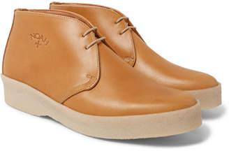 Noah + Sanders Leather Desert Boots