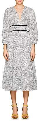 Ulla Johnson Women's Malena Floral Cotton Midi-Dress
