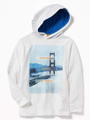 Old Navy Graphic Pullover Hoodie for Boys