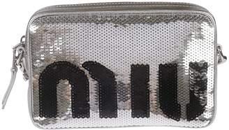 Miu Miu Sequin-coated Clutch