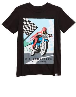 Kid Dangerous Vintage Motocross T-Shirt