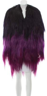 Tom Ford Ombré Goat Hair Coat