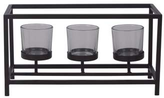 Mainstays Tea Light Centerpiece Candle Holder, Black