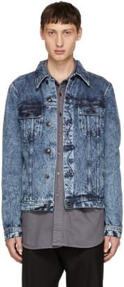 Stella McCartney Blue Dirty Denim Jacket