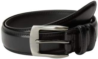 Florsheim Men's Pebble Grain Leather Belt 35MM