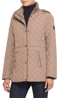 Women's Lauren Ralph Lauren Quilted Field Jacket $160 thestylecure.com